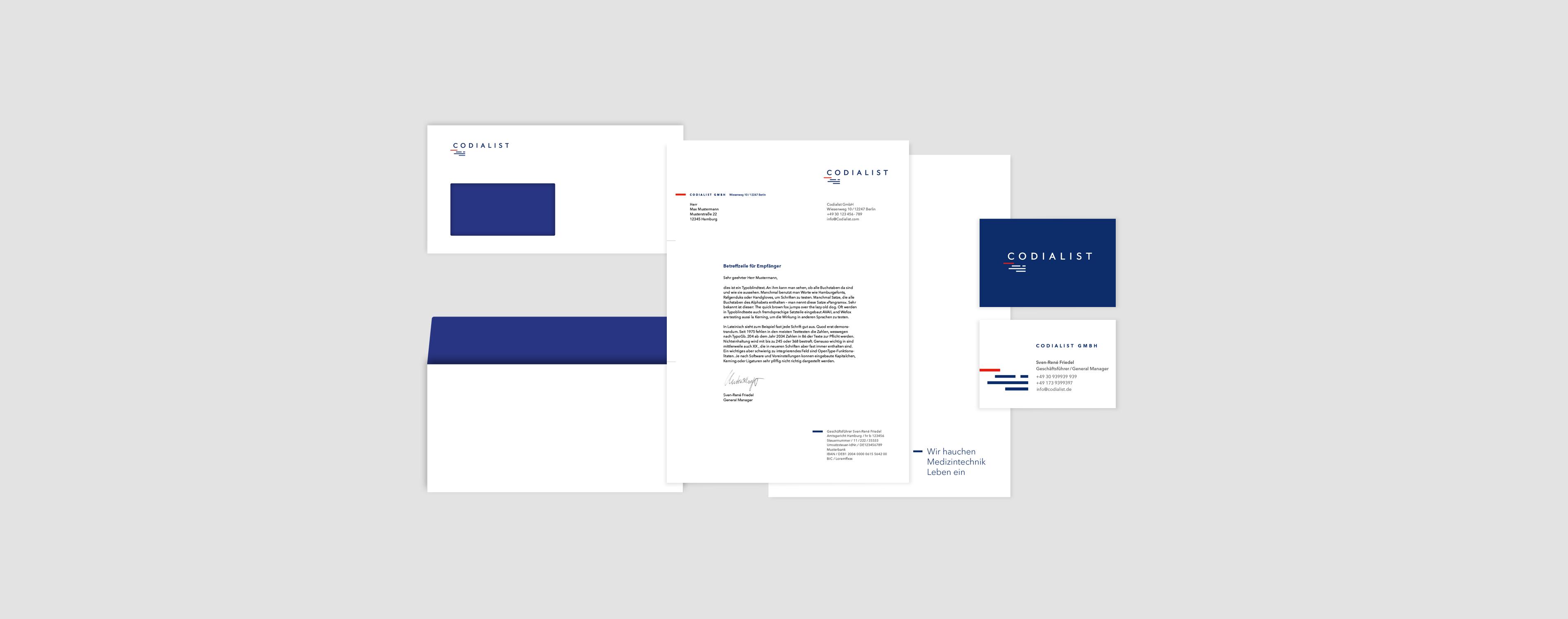 Geschäftsausstattung, Briefumschlag, Briefpapier, Visitenkarte