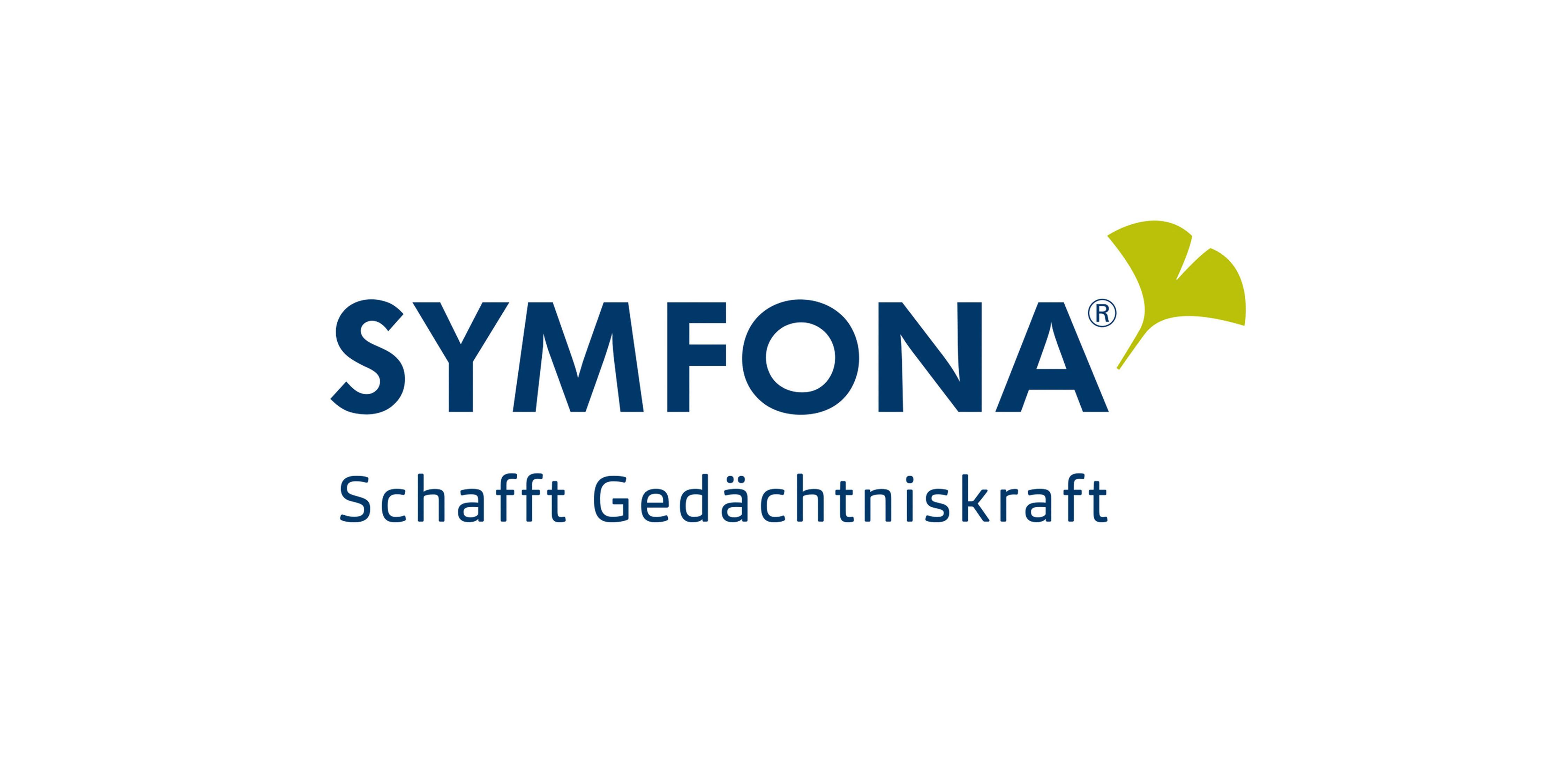 Die Animation der Symfona Wortbildmarke dient als Eyecatcher in der digitalen Kommunikation.