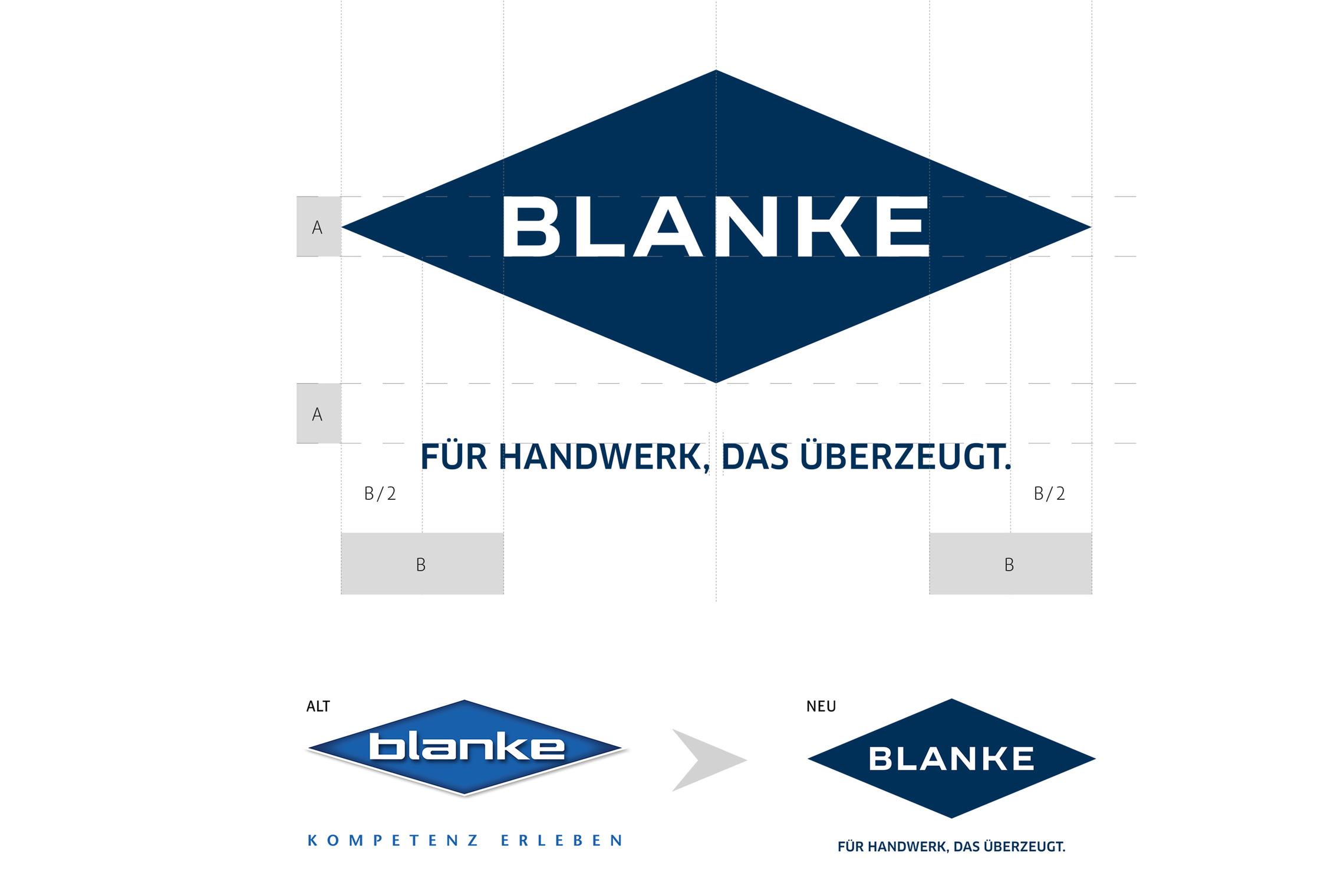MONOKI begleitete den kompletten Relaunch der Marke Blanke und verlieh Logo und Claim einen modernen Anstrich.