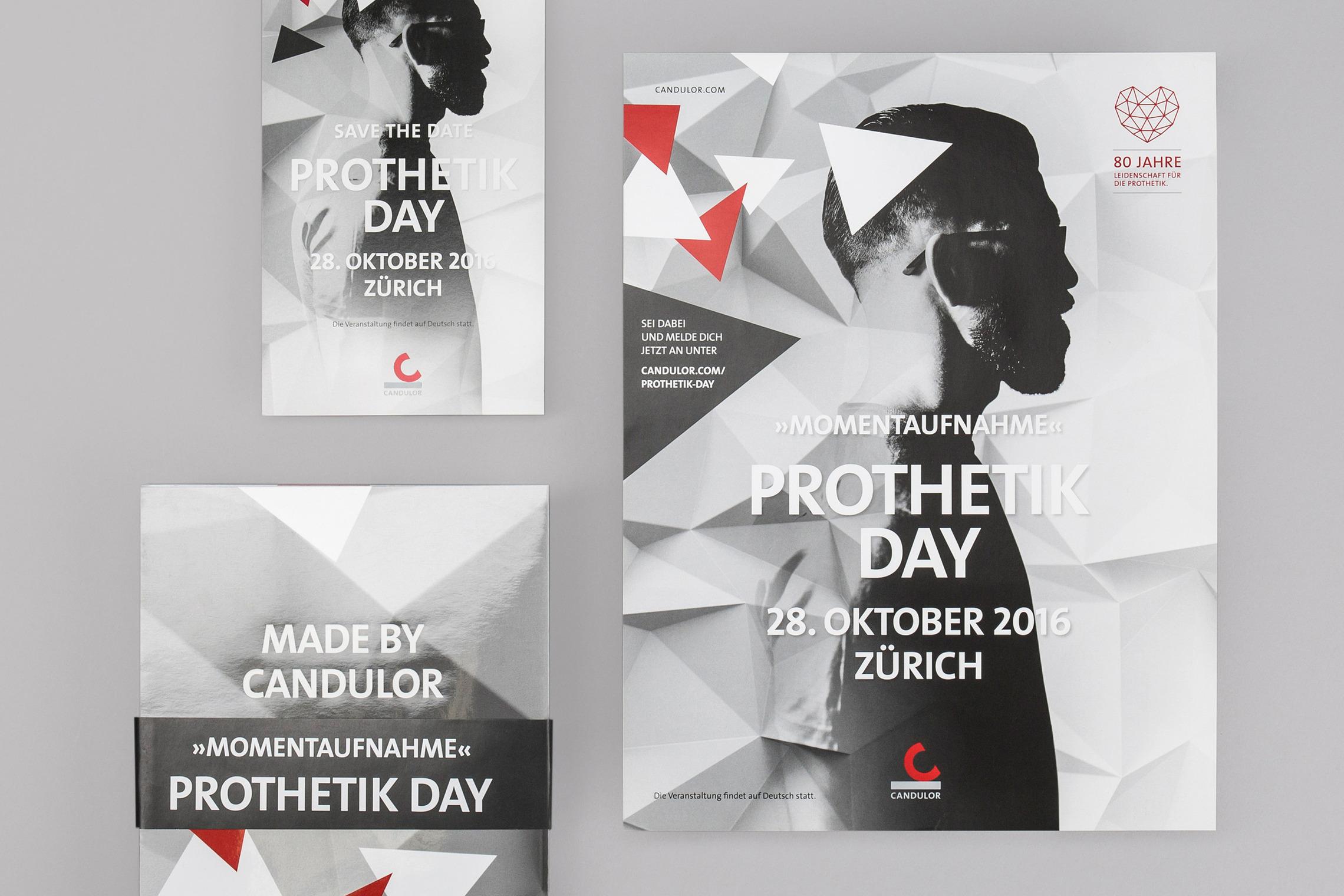 Für besondere Events und Anlässe wird das Brand Design individuell weiter entwickelt.