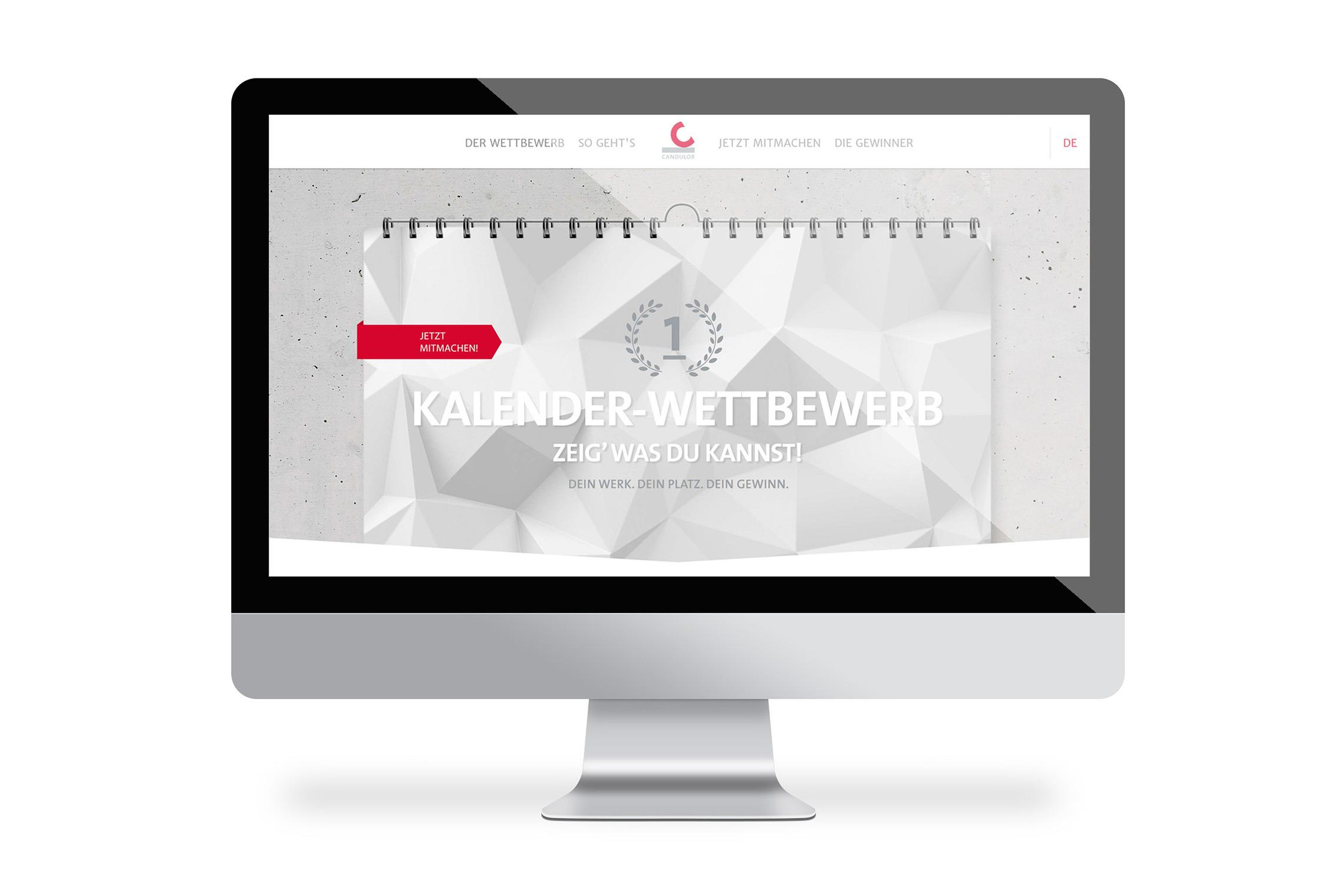 Für besondere Themenbereiche und Aktionen werden eigene Landingpages gestaltet und programmiert.