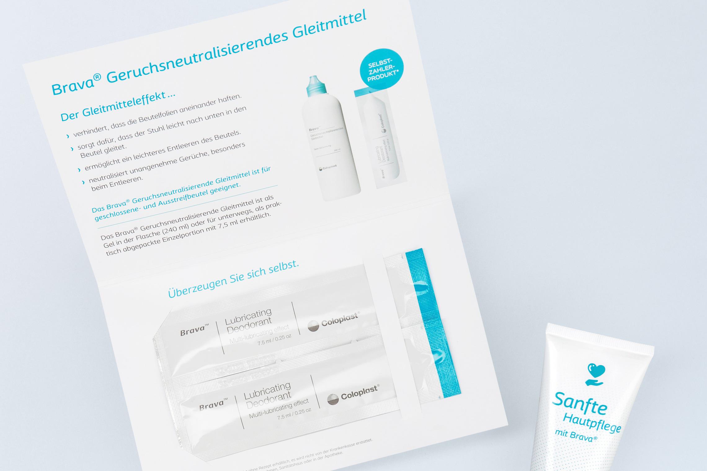 Mailings mit Produkt Samples vermitteln der Zielgruppe die Vorteile auf unmittelbare Weise.