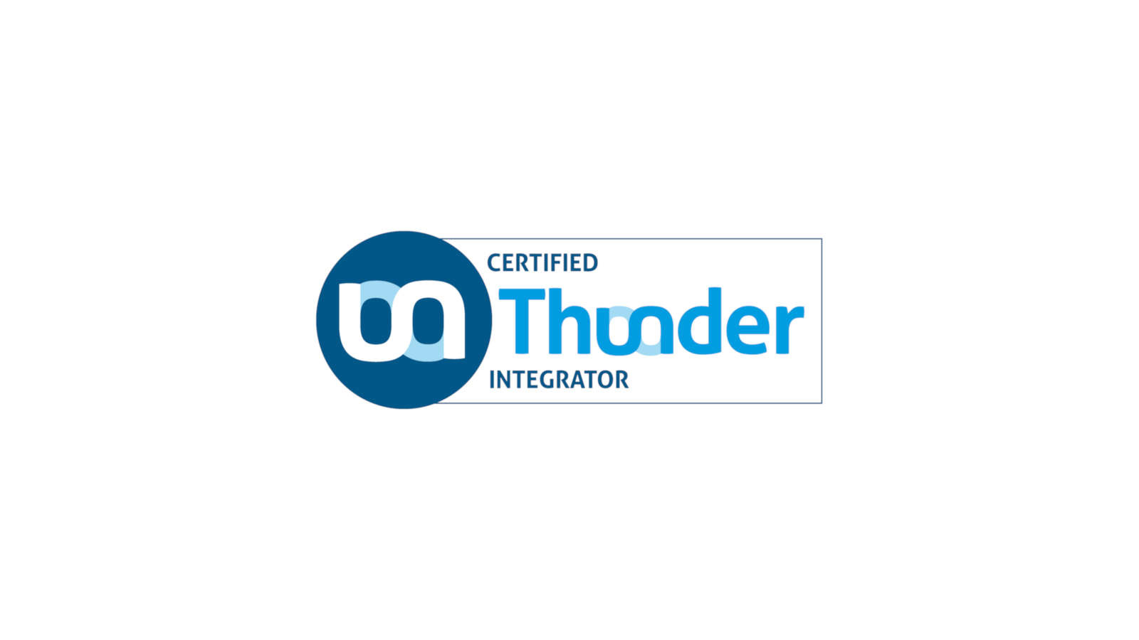 Monoki ist Certified Thunder Integrator