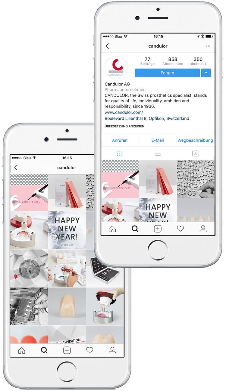 MONOKI entwickelte eine individuelle Social Media Strategie, um die Marke CANDULOR auch interaktiv erlebbar zu machen.