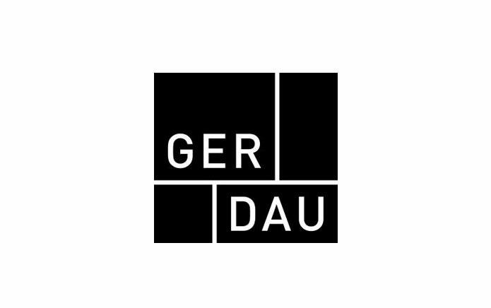 Das von MONOKI entwickelte geradlinige Logo bringt auf den Punkt, wofür Gerdau Küchen steht.