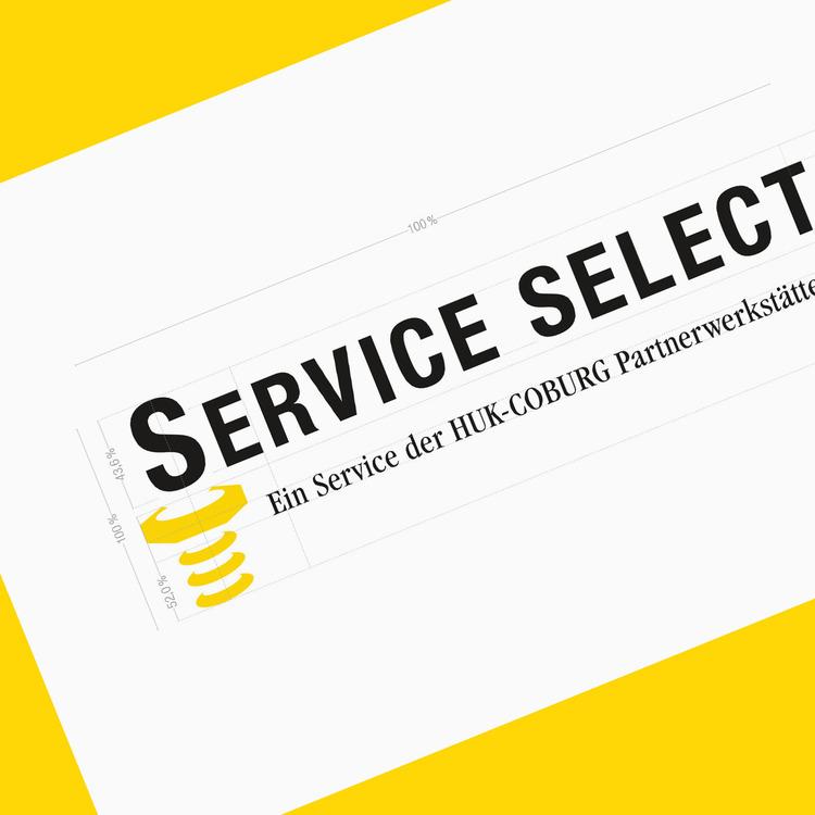 Auf der Online-Plattform »Service Select« wird die Marke HUK für die Kunden erlebbar.