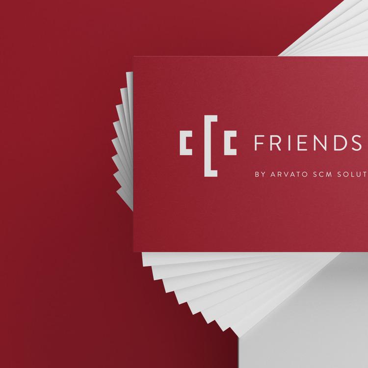 Mit ihrer Visitenkarte im neuen Brand Design hinterlassen die Friends of C. immer einen guten Eindruck.